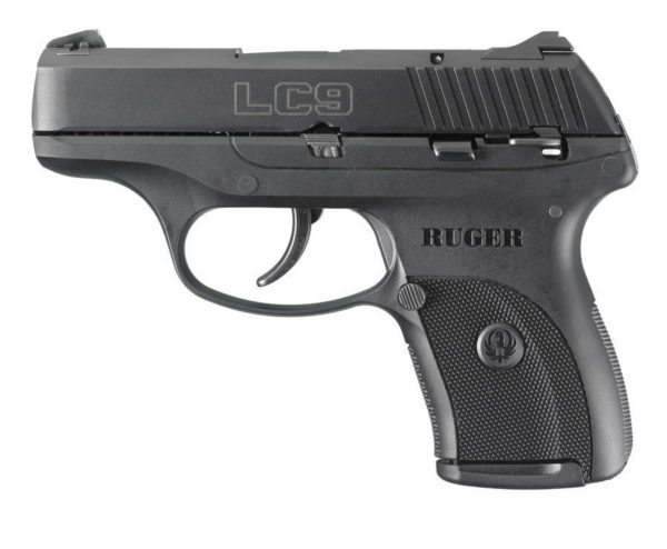 Ruger Lc9 – 9MM 3-3/16″ BARREL BLUE W/ MAX LASER